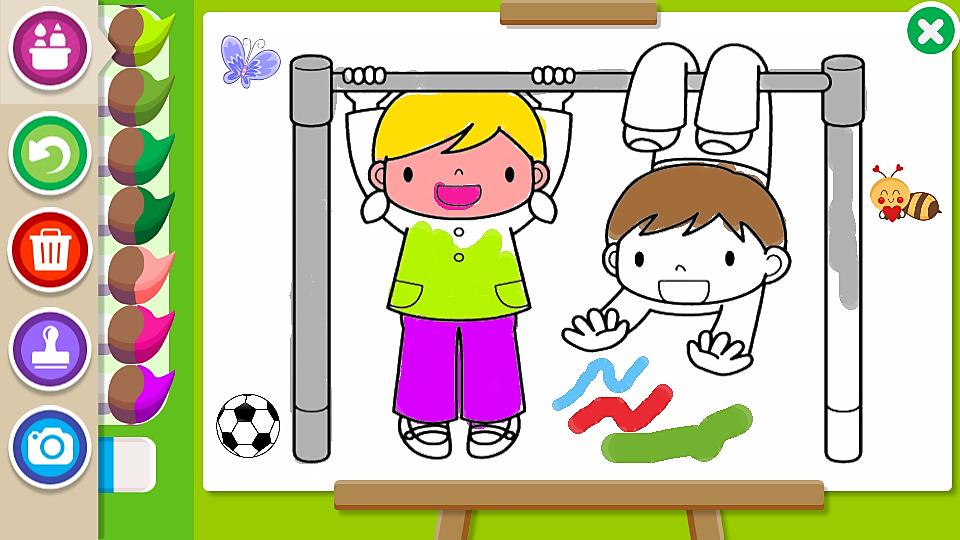 Colorear y Pintar para Niños